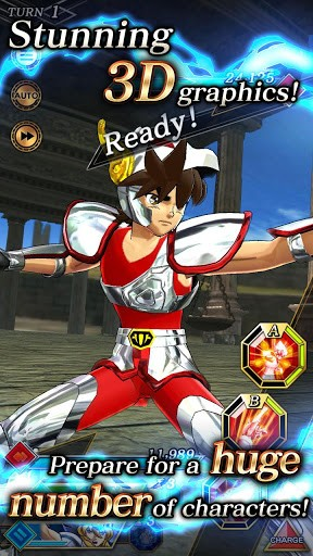 SAINT SEIYA SHINING SOLDIERS 1